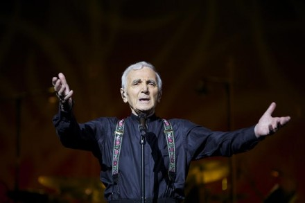 Charles Aznavour to Play at New York's Madison Square Garden