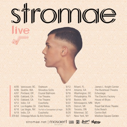 JUST ANNOUNCED: Stromae to Play Madison Square Garden, Several US Cities in 2015
