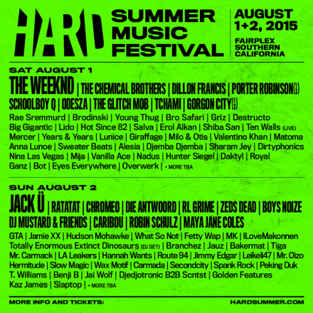 French Acts at HARD Fest in Los Angeles
