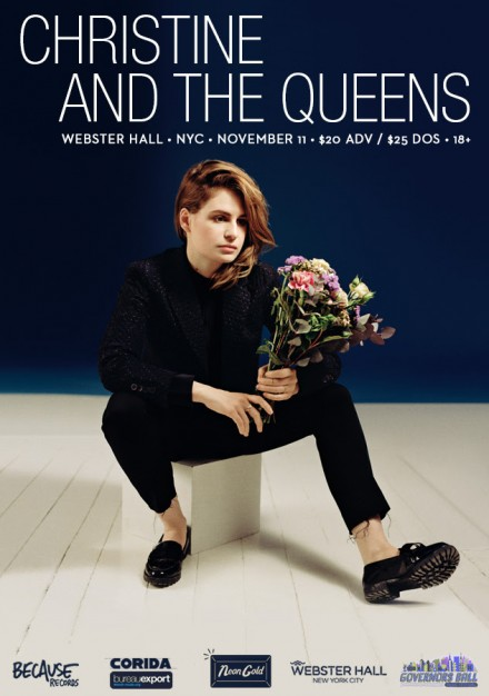 OUT NOW: CHRISTINE AND THE QUEENS SELF-TITLED ENGLISH LANGUAGE DEBUT