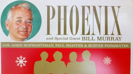 'Alone on Christmas Day' Featuring Phoenix with Bill Murray and others