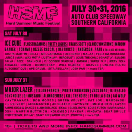 French Music at Hard Summer Fest