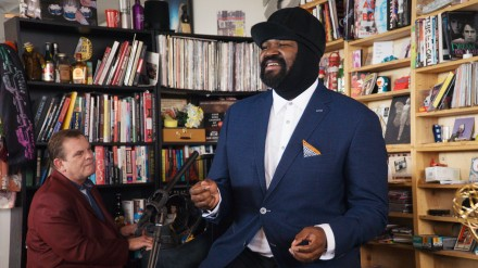 Gregory Porter on NPR Tiny Desk, Playing in Brooklyn