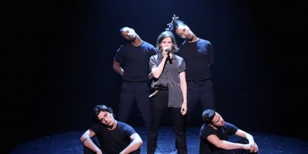 Christine and the Queens on Fallon Last Night!