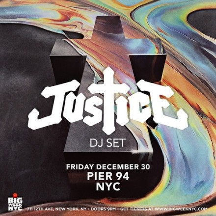 New Justice Video and Pre-NYE Show in NYC