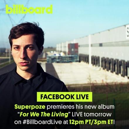 Superpoze Premieres Album on Billboard Today!