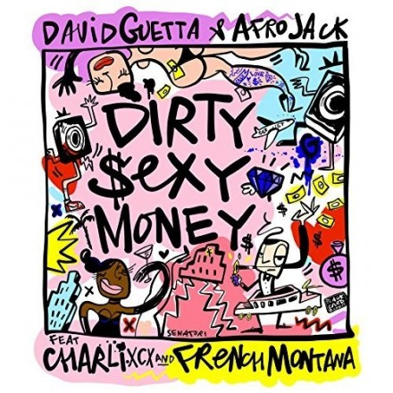 "New release: David Guetta ""Dirty Sexy Money"""