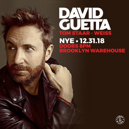 New Year's Eve with David Guetta in Brooklyn