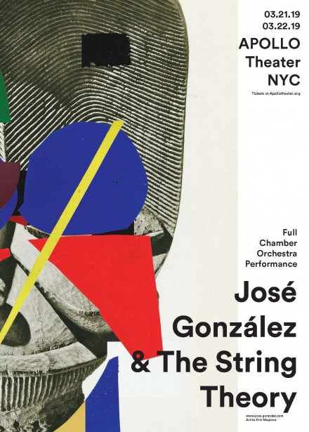 Jose Gonzalez & The String Theory at Apollo Theater – March 21st & 22nd