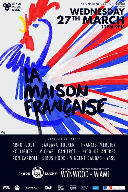 Miami Music Week by La Maison Francaise