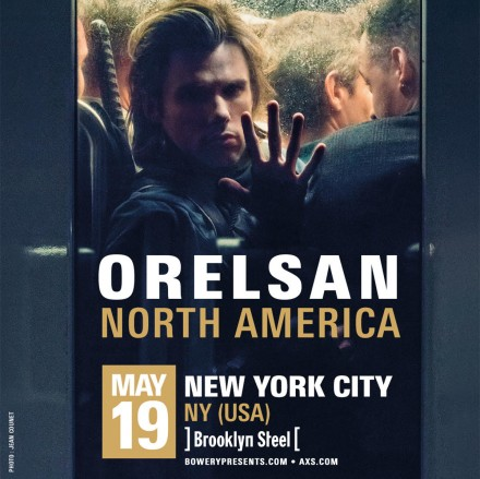 OrelSan – Performing in New York on May