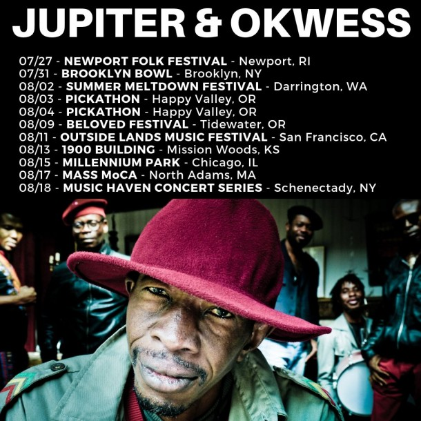 JUPITER & OKWESS – On Tour in the US