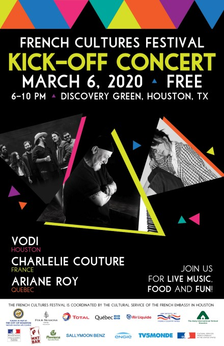 CharlElie Couture at the 2020 French Cultures Festival in Houston