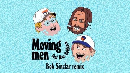 Myd – 'Moving Men' feat. Mac DeMarco (Bob Sinclair Remix)